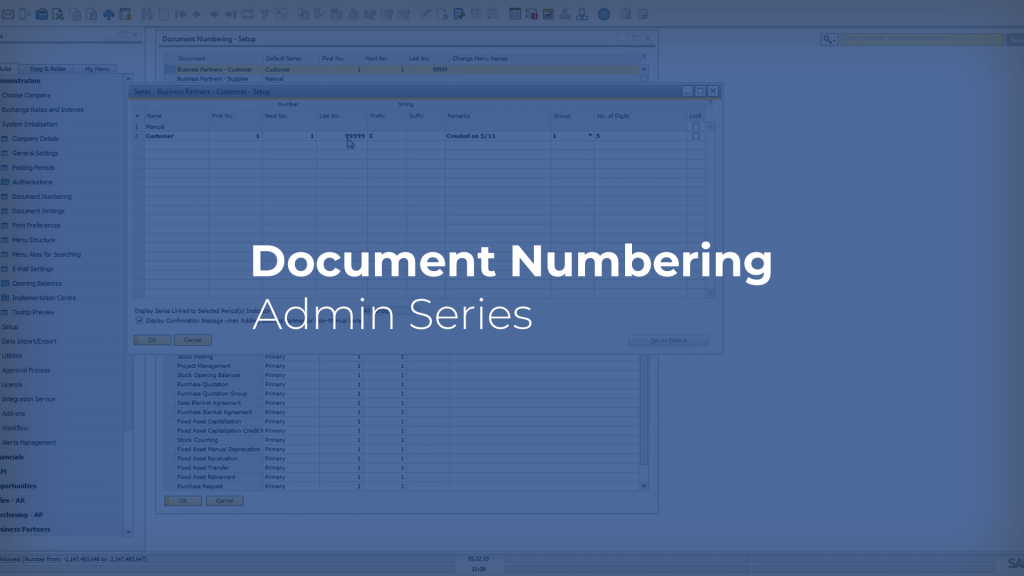 Document Numbering