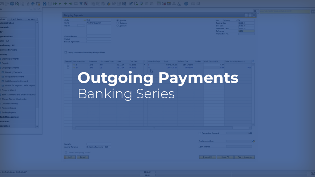 Outgoing Payments