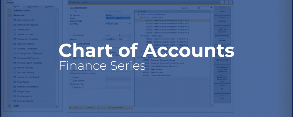 SAP Business One Chart of Accounts video cover image