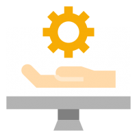 Software as a service icon
