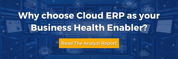 Why choose Cloud ERP as a business enabler blog cover image