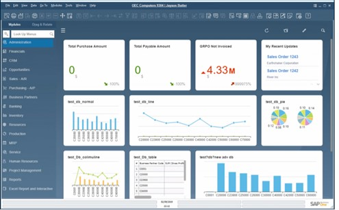 SAP Business One v10 - Usability – New Look & Feel